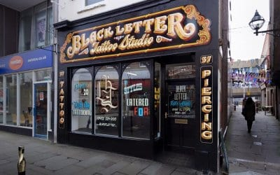 Business in Focus with Black Letter Tattoo Studio