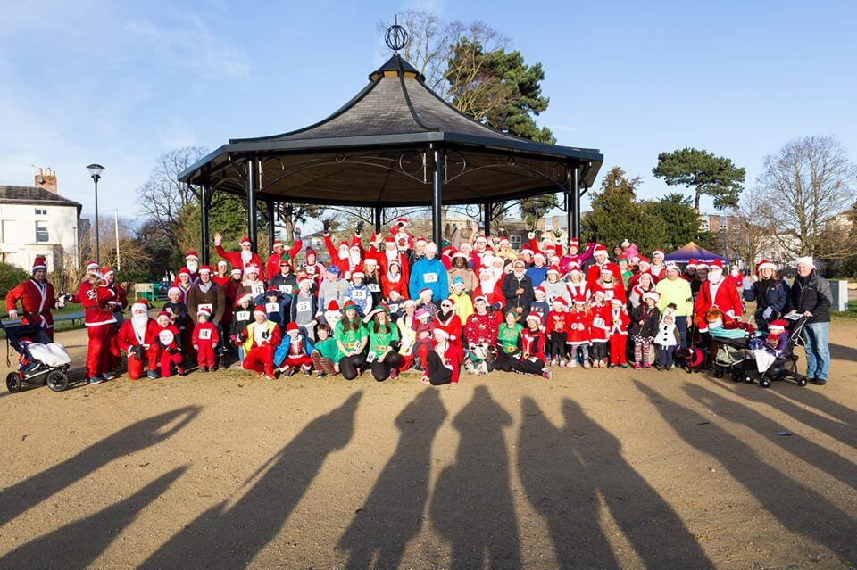 Gloucester Santa Fun Run 2018