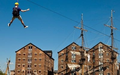 Gloucester Tall Ships welcomes the return of the Zip Wire!