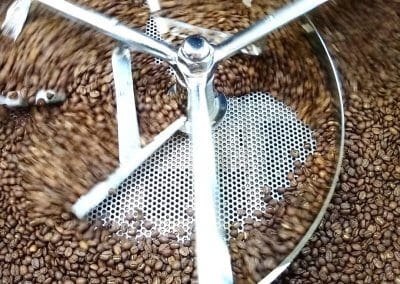 Blending Coffee Beans