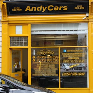 Andy Cars Eastgate Street Glooucester Four Gates