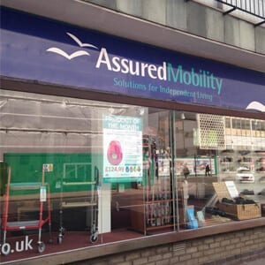 Assured Mobility Eastgate Street Gloucester Four Gates