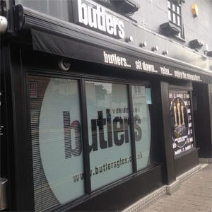 Butlers Wine Bar Eastgate Street Gloucester Four Gates