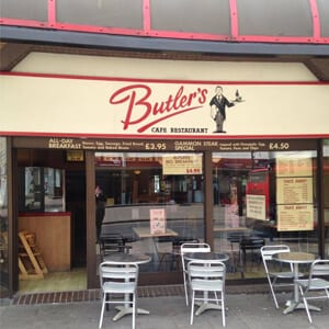 Butlers Cafe Eastgate Street Gloucester Four Gates