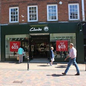 Clarks Eastgate Street Gloucester Four Gates