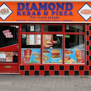 Diamond Kebab and Pizza Eastgate Street Gloucester Four Gates