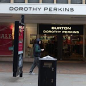 Dorothy Perkins & Burtons Menswear Eastgate Street Gloucester Four Gates
