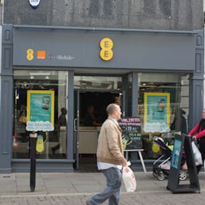 ee-orange northgate street four gates gloucester