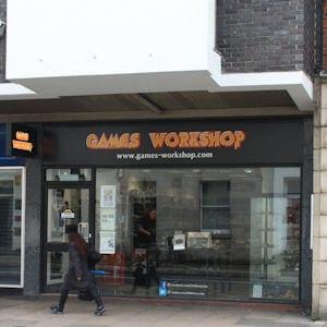 Games Workshop Eastgate Street Gloucester Four Gates
