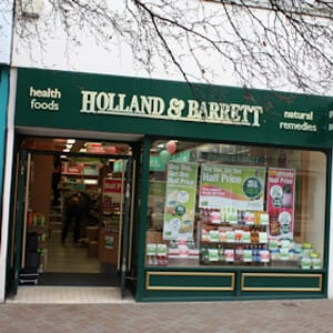 Holland and Barrett Eastgate Street Gloucester Four Gates