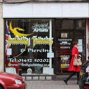 Infinity Tattooing Eastgate Street Gloucester Four Gates