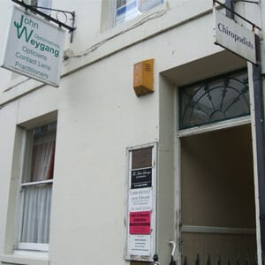 John Weygang Optometrists Eastgate Street Gloucester Four Gates