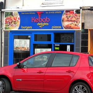 Kebab Delights Eastgate Street Gloucester Four Gates