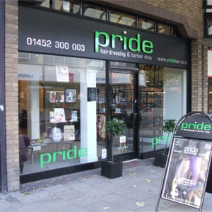 Pride Hairdressing And Barbers Eastgate Street Gloucester Four Gates