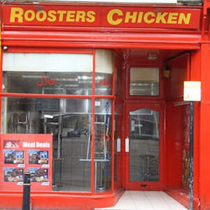 Roosters Chicken Eastgate Street gloucester Four Gates