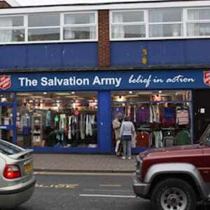 The Salvation Army Charity Shop Eastgate Street Gloucester Four Gates
