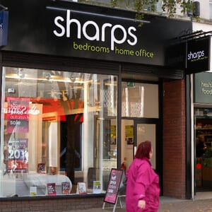 Sharps Bedrooms,Home and Office Eastgate Street Gloucester Four Gates