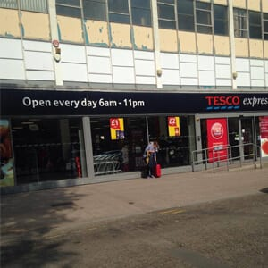 Tesco Express Eastgate Street Gloucester Four Gates