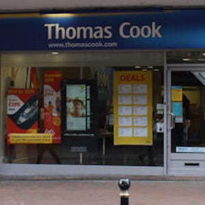 Thomas Cook Eastgate Street Gloucester Four Gates