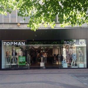 Topshop/Topman Eastgate Street Gloucester Four Gates