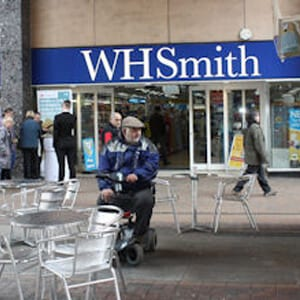 W.H.Smith Eastgate Street Gloucester Four Gates