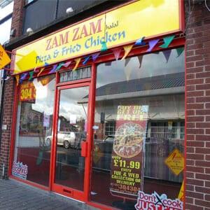 ZamZam Pizza Eastgate Street Gloucester Four Gates