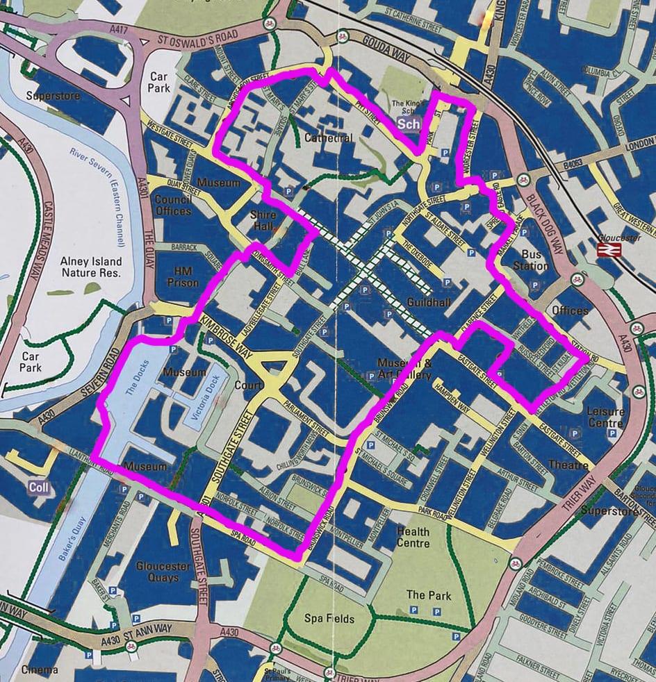 Gloucester-BID-Art-Trail-Map