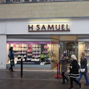 H.Samuel Southgate Street Gloucester Four Gates