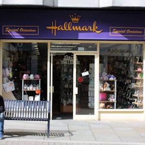 Hallmark Cards northgate street four gates gloucester