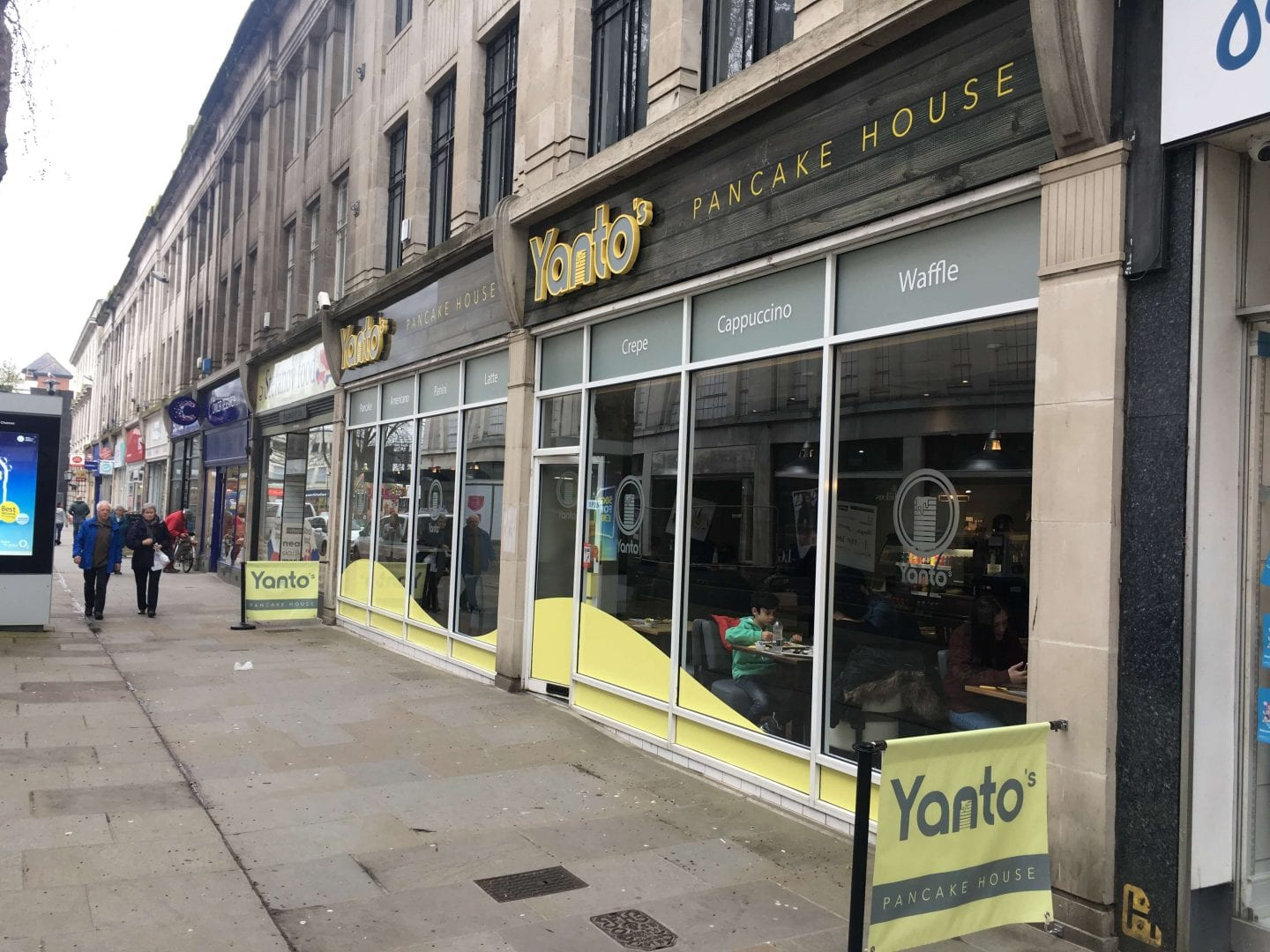 Yanto's Pancake House, The Oxebode, Gloucester GL1 1RZ