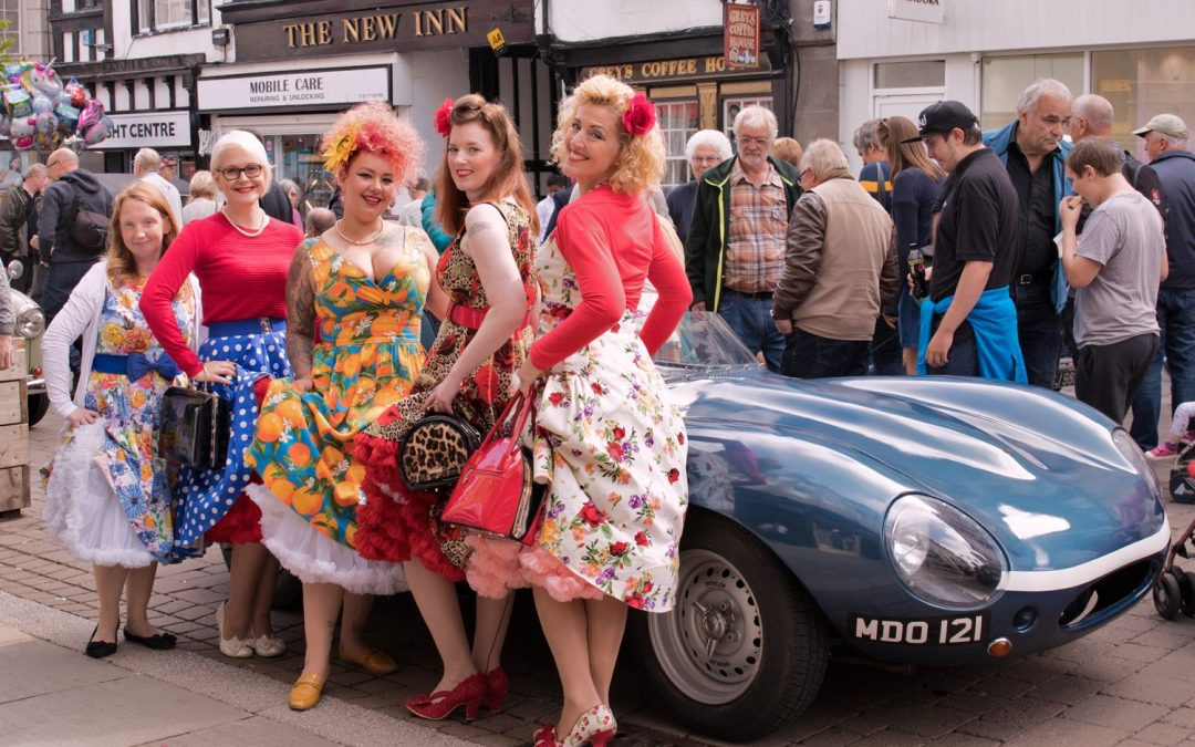 Excitement Builds for Gloucester Goes Retro!