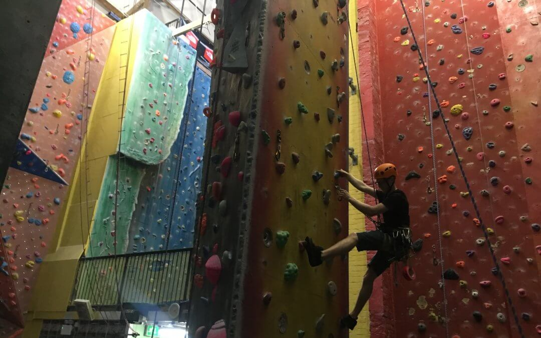 Business in focus: Warehouse Climbing Centre