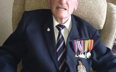 Former fire fighter to receive war honour