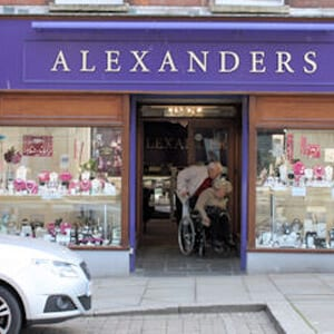 Alexander's Jewellers Northgate Street Gloucester Four Gates