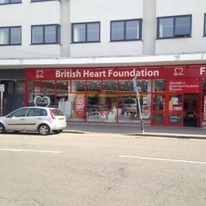 British Heart Foundation Northgate Street Gloucester Four Gates