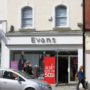 Evans Northgate Street Gloucester Four Gates