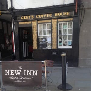 Grey's Coffee House Northgate Street Gloucester Four Gates