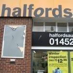 Halfords Auto Centre Northgate Street Gloucester Four Gates