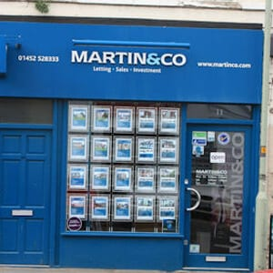 Martin and Co Northgate Street Gloucester Four Gates