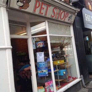 Pet Shop Northgate Street Gloucester Four Gates