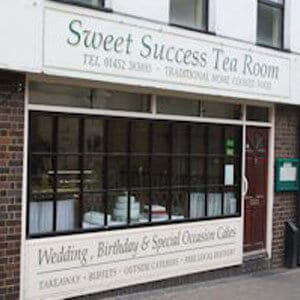 Sweet Success Tea Room Northgate Street Gloucester Four Gates