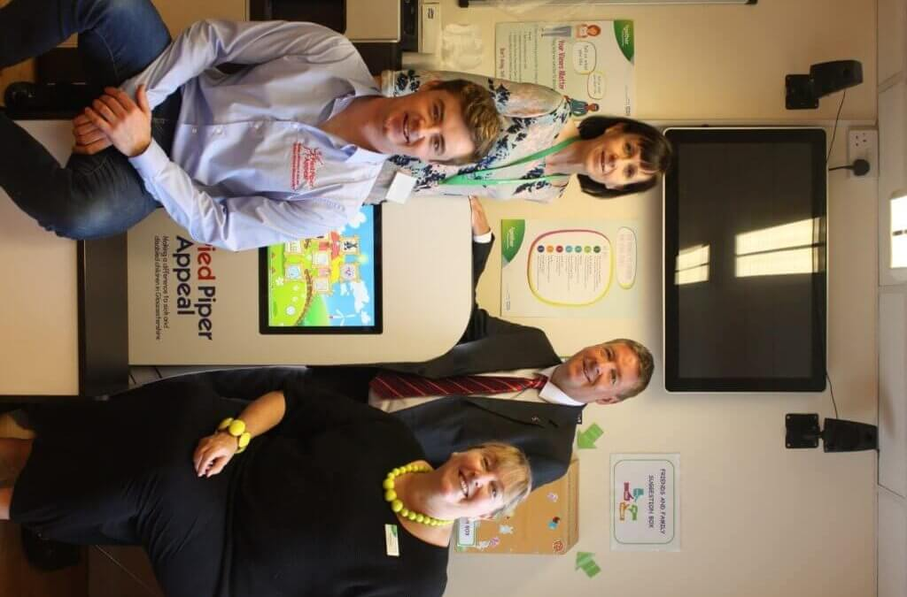 Trust thanks Pied Piper Appeal for interactive screens for children's waiting areas