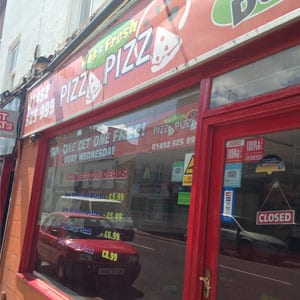 Pizza Pizza Southgate Street Gloucester Four Gates