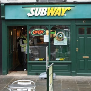 Subway Southgate Street Gloucester Four Gates