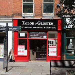 Tailor of Gloster Southgate Street Gloucester Four Gates