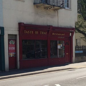 Taste of Thai sfSouthgate Street Gloucester Four Gates