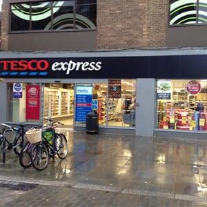 Tesco Express Southgate Street Gloucester Four Gates