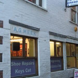 A G Meek Repair Bar Westgate Street Gloucester Four Gates