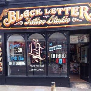Black Letter Tattoo Company