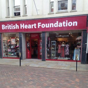 British Heart Foundation Westgate Street Gloucester Four Gates